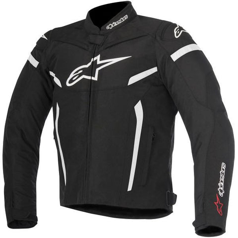 ALPINESTARS T-GP PLUS R V2 BLACK WHITE - Veste Textile