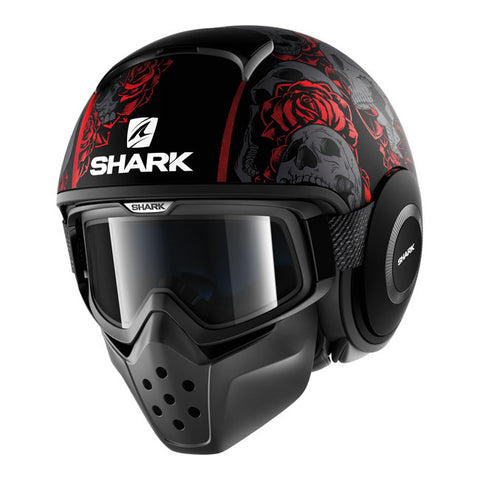 Shark Drak Sanctus Red - Casque Jet
