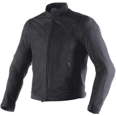 DAINESE AIR-FLUX D1 BLACK - Blouson Textile