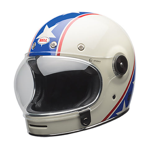 BELL BULLITT CHEMICAL CANDY BLUE WHITE - Casque Intégral