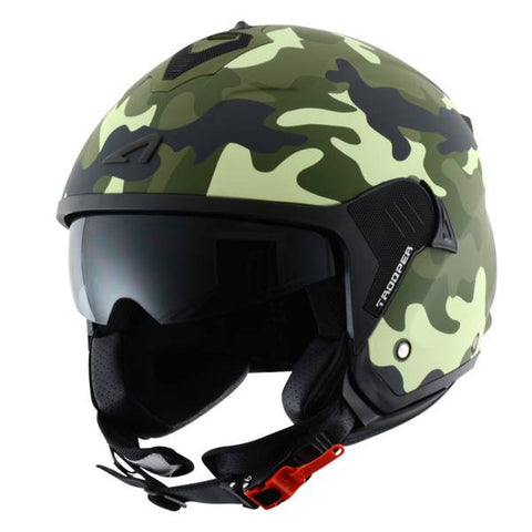 Astone Minijet Trooper Camo - Casque Jet