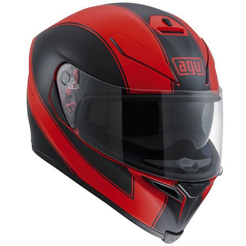 AGV K-5 S ENLACE RED MATT BLACK - Casque Intégral