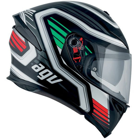 AGV K-5 S FIRERACE BLACK ITALY - Casque Intégral