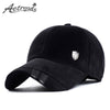 [AETRENDS] Autumn Winter Thickened Baseball Cap with Ears Men's Cotton Hat Z-2212