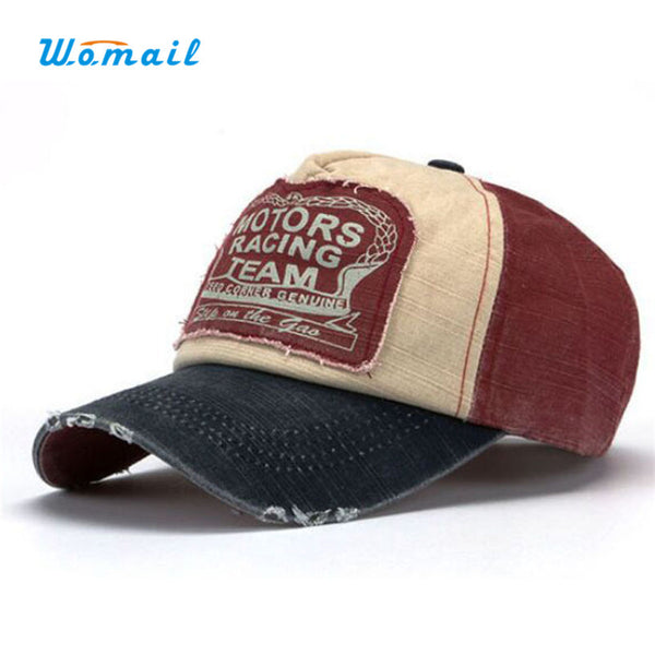 2016 New Amazing New Unisex Baseball Cap Cotton Motorcycle Cap Men Women Casual Summer Hat 6Colors