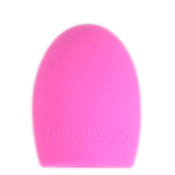 1 Piece Retail JAF Brush Egg for Cleaning Makeup Brushes Silicone Brushegg Finger Glove Make Up Brush Cleaner