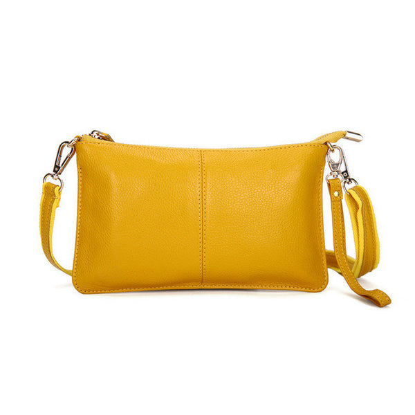 100% Genuine Leather Bags Women Messenger Bags Famous Brands Fashion Ladies Shoulder Crossbody Bag Feminine Clutch Bags bolsa