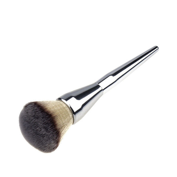 Silver Contour Makeup Brushes Synthetic 1Pc Large Powder Brush Blush Make-Up Tool Liquid Foundation Cosmetic Makeup Brush #82373