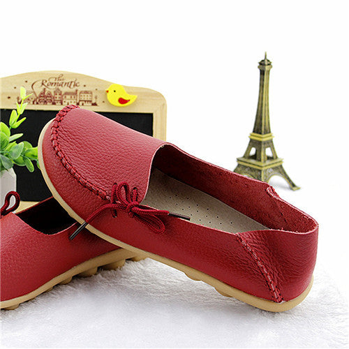 16 Colors Available Women Flat Shoes Woman Slip On Loafers Women's Fashion Shoes Moccasins Female Footwear Plus Size 2016 QT179