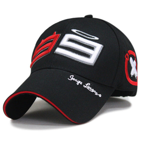 Outdoor Trucker Hat 99 Jorge Lorenzo Hats for Men Racing Cap Cotton Sports Motorcycle Racing Baseball Caps Car Sun Baseball Caps