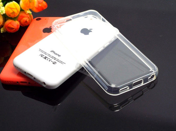 1PC For Apple iphone 5C Case Ultra Thin Transparent Clear TPU Soft Silicon Cases Cover Material Phone Shell No Scratch 2017