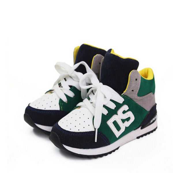 2015Hot-selling  sport shoes running shoes male child spring female children shoes pedal snearkers