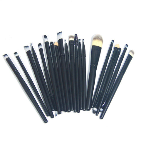Pro hand to makeup brushes tools Soft Cosmetic Make up Brush Set Woman's Toiletry Kit eye makeup brushes kabuki brush 1/20pcs