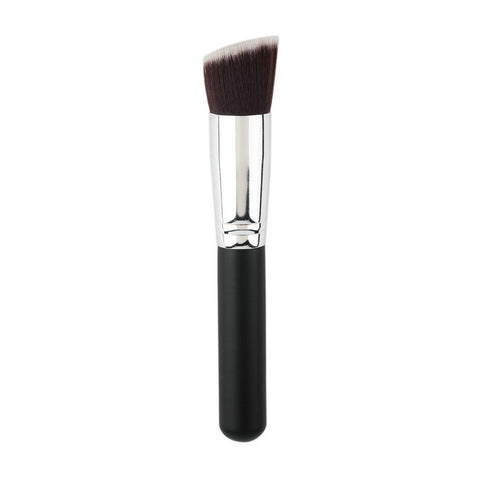 2016 professional makeup brush set New Silver Soft Synthetic Large Cosmetic Blending Foundation Makeup Brush