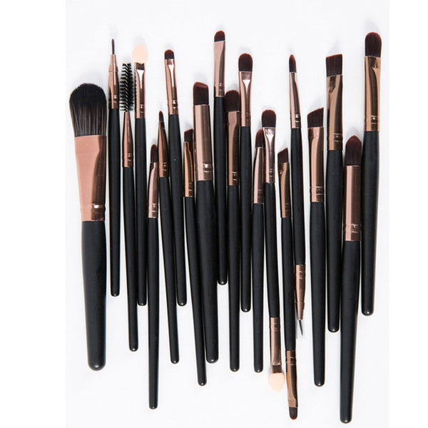 Makeup Brushes 20Pcs Eye Shadow Lipstick Eyeliner Brushes Professional Make up Brush Set Tools kit Set Cosmetics Tools Maquiagem