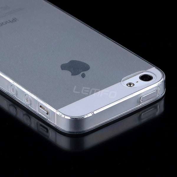 1 PCS Transparent Clear Case for iPhone 5 5s SE 6 6S 7 Plus Soft Silica Gel TPU Silicone Ultra Thin Mobile Phone Cover Cheap