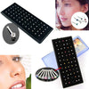 2015 hot sell Indian style 60pcs/set Crystal Rhinestone Nose Ring Bone Stud Surgical Steel Body Jewelry 569V