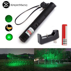 5mw Green Laser Pointer Burning Beam Full Kit