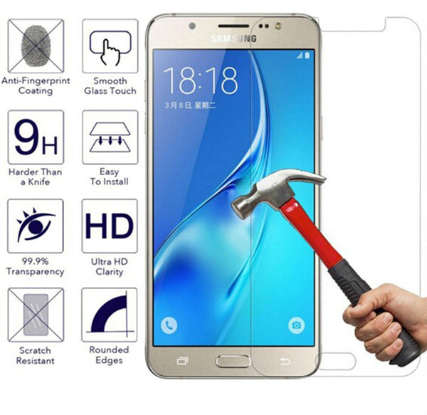2.5D 9H Tempered Glass For Samsung Grand Prime j1 J3 J5 J7 A3 A5 A7 2016 2017 J2 PRIME Grandprime Screen Protector Cover Film