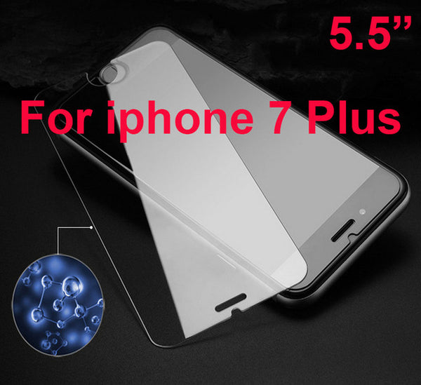 2.5D Thin HD Tempered Glass Screen Protector for iPhone 7 Clear Armor film for Apple iPhone SE 5 5S 6 6S 7 8 Plus X
