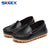 NEW Spring/Autumn Children Shoes Boys Girls Loafers Baby Toddler Leather Shoes Student Anti-Slippery Single Shoes Kids Flats 044