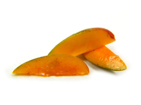 1:12 Scale Kent Mango Slices - Miniature Mango - Dollhouse Mangos