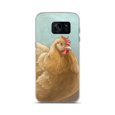 Samsung Buff Orpington Chicken Phone Case - Samsung Case