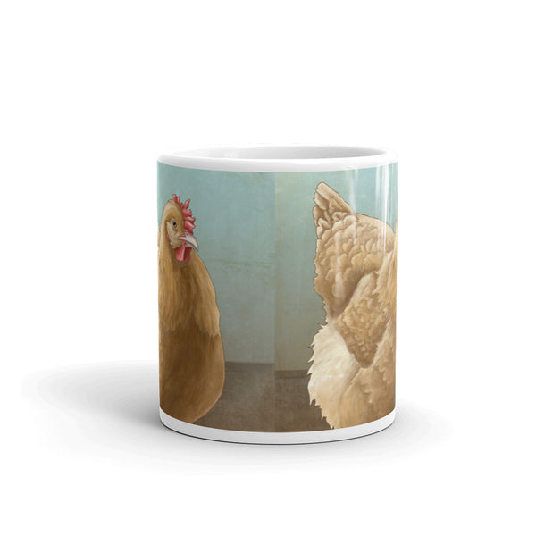 Buff Orpington Chicken Mug - Made in the USA