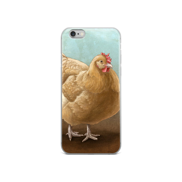 iPhone Buff Orpington Chicken Phone Case - iPhone Case