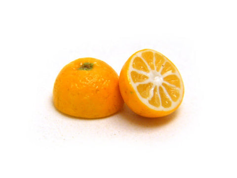 Miniature Orange Halves