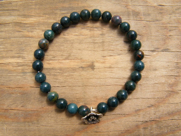Healing Pocket Mala - Bloodstone Pocket Mala