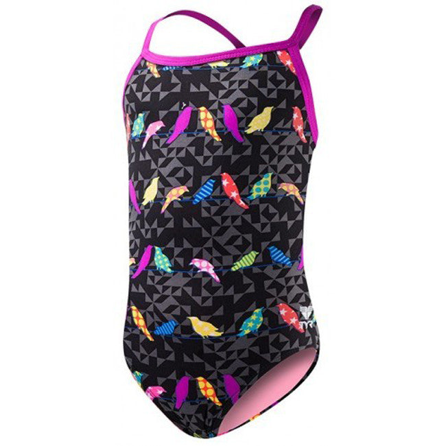 TYR Girl's Chicadee Diamondfit
