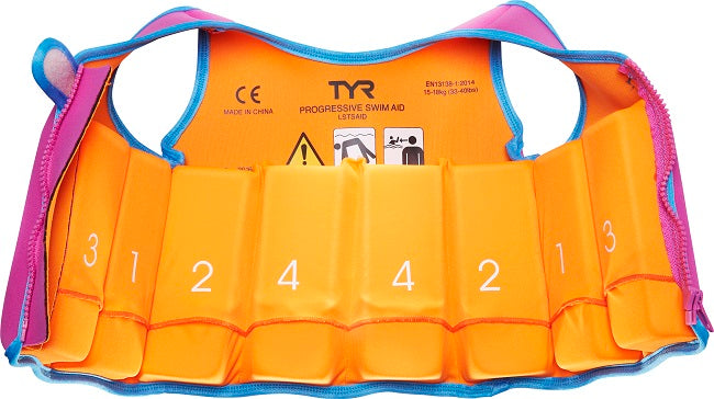 TYR Kids' Start to Swim™ Progressive Swim Aid