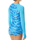 TYR Women's Sundrata Belize Long Sleeve Rashguard