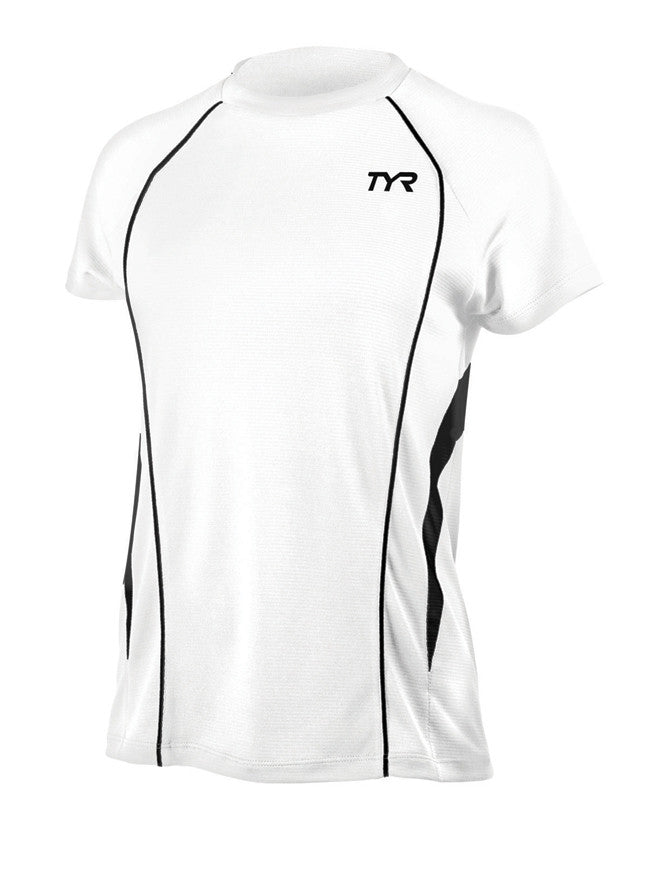 TYR Women's Competitor Shortsleeve Running Shirt