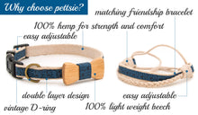 pettsie-blue-dog-collar-wood-bow-tie-friendship-bracelet-features