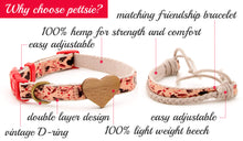 pettsie-red-dog-collar-heart-friendship-bracelet-easy-adjustable-size-features