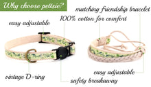 pettsie-green-cat-collar-matching-friendship-bracelet-features