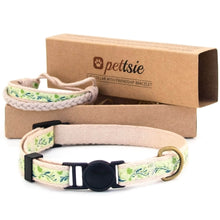 pettsie-green-cat-collar-matching-friendship-bracelet-main