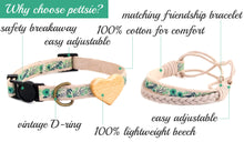 pettsie-green-cat-collar-heart-matching-friendship-bracelet-features