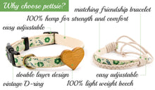 pettsie-hemp-dog-collar-heart-friendship-bracelet-gift-features