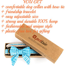 pettsie-hemp-dog-collar-cotton-bow-tie-removable-washable-matching-friendship-bracelet-benefits-calming