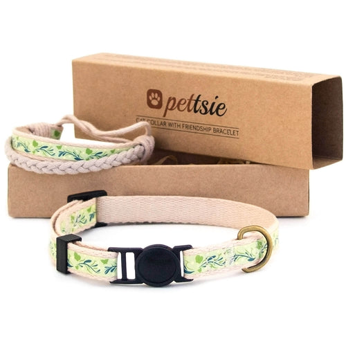 pettsie-green-kitten-collar-safety-breakaway-buckle-friendship-bracelet-easy-adjustable