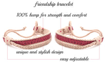 pettsie-matching-friendship-bracelet-cotton-hemp-pink-features