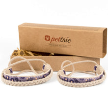 pettsie-matching-friendship-bracelet-cotton-hemp-purple
