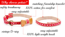 pettsie-red-cat-collar-set-wood-bow-tie-features
