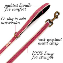 pettsie-dog-leash-natural-sturdy-hemp-5-ft-long-features
