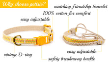 pettsie-yellow-breakaway-kitten-collar-friendship-bracelet-features