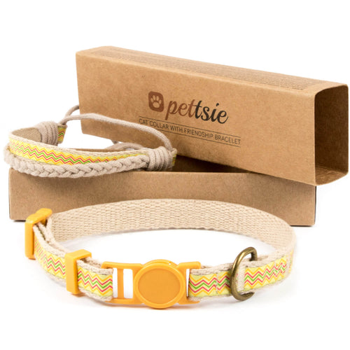 pettsie-yellow-cat-collar-matching-friendship-bracelet-gift-calming-cotton-chic-fancy