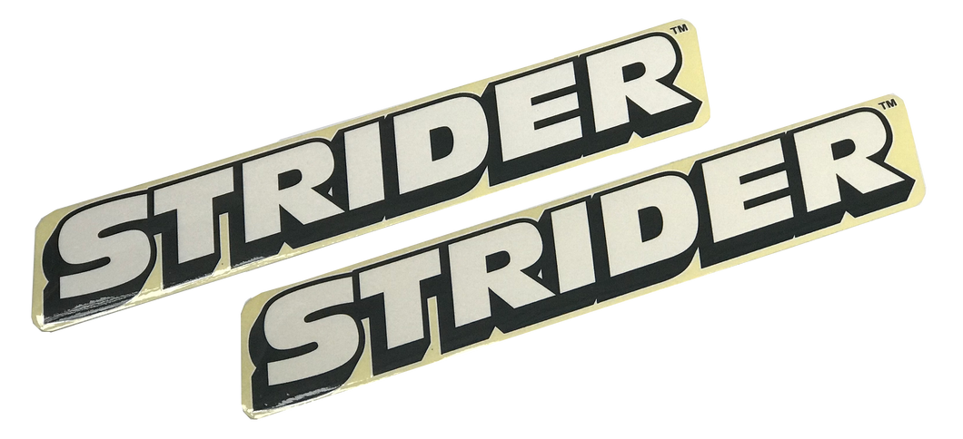Strider Bike Replacement Frame Stickers